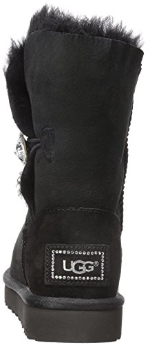 Bottines Bailey Button UGG Australia Noir Nero Bling Noir Femme qIpRTwP