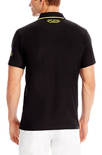 Hugo Boss 'Pavos' Slim Fit, Stretch Polo Shirt By Boss Green - Black (L)