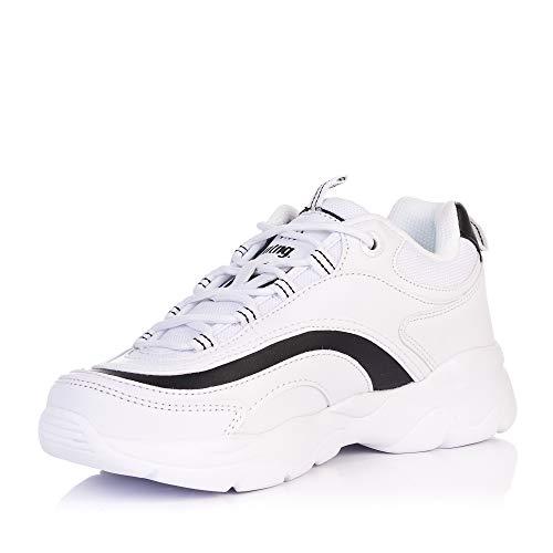 Y Mustang Sneakers Negras Blancas blanco 69920 Negro RUnq8