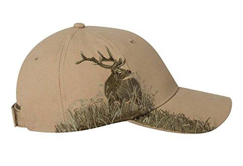 DRI DUCK Wildlife Series Caps, Khaki - Elk (3259), ADJ