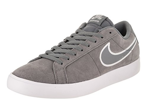 NIKE Men's SB Blazer Vapor Cool/Grey/Cool/Grey/White Skate Shoe 9.5 Men (Ultra Suede Blazer)
