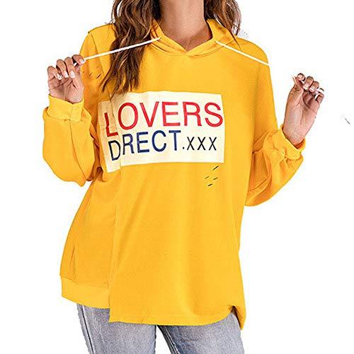Sweatshirt,Toimoth Ladies Long Sleevel Hooded Coat Tops Blou