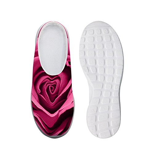 Bigcardesigns Fashion Multicolor Rose Daily Slip-ons Shoes Breathable Sandals Pink x8CZb