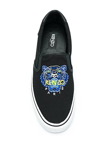 Kenzo Men's F855SN100F7299 Black Canvas Slip On Sneakers clearance exclusive cheap sale authentic AhFgK