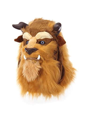 (elope Disney Beauty and The Beast Costume Mouth Mover Mask)