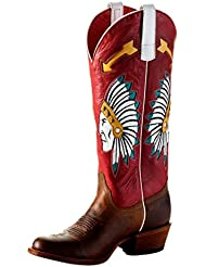 Macie Bean Western Boots Womens Chief So Cute Roper Toast Bison M5202