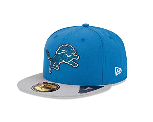 NFL Draft 2015 Detroit Lions On Stage 59Fifty Cap-738 (Detroit Lions Nfl Draft)