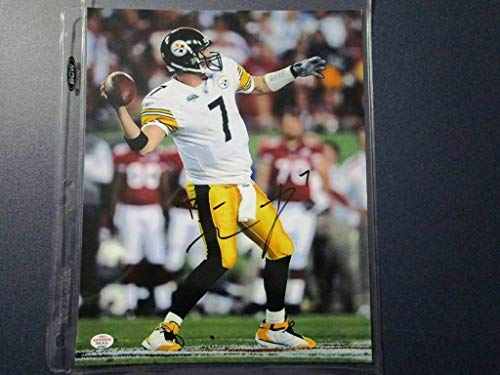 - Ben Roethlisberger Autographed Signed Memorabilia Pittsburgh Steelers 8x10 Photo Coa - Certified Authentic