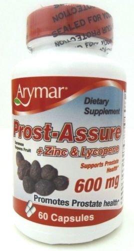 Arymar Prost-Assure & Zinc & Lycopene 600 mg 60 capsules by Prso-Assure & Zinc & Lycopene 600 mg