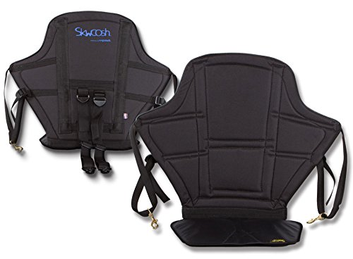 Skwoosh High Back Kayak Seat with Gel Seat Cushion | Made in USA
