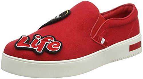 Mars Aldo para Keacien Mujer Zapatillas Red Rojo xwzPqaf