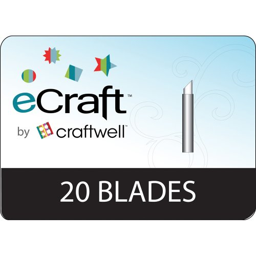 Craftwell Ecraft Replacement Blades, 20 Per Package by Craftwell