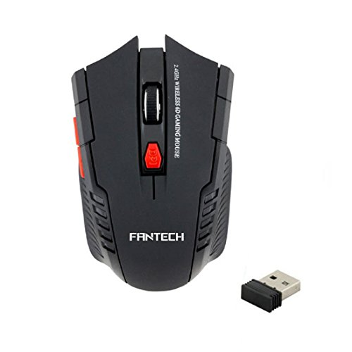 Tonsee 2.4Ghz Mini portable Wireless Optical Gaming Mouse Fo