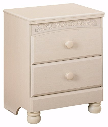 Ashley Furniture Signature Design - Cottage Retreat Nightstand - 2 Drawers - Casual Kids Room - Cream Cottage (Shabby Cottage Furniture)