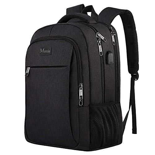 MATEIN Business Laptop Backpack, Slim Travel Computer Rucksack with USB...