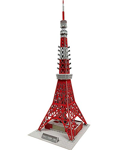 - PANDA SUPERSTORE The Tokyo Tower Three-Dimensional Building of Manual Assembly Paper Model