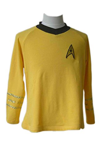 Captain Kirk Costume (CosplayNow Star Trek Captain Kirk Cosplay Costume Yellow Custom Made)
