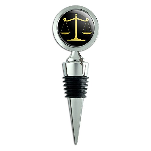 Balanced Scales Justice Symbol Stopper