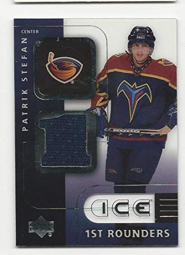 2001-02 Upper Deck Ice Patrik Stefan #F-PS NM++ RC Rookie MEM from Unknown