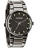 Nixon Unisex Cannon Polished Gunmetal/Lum Watch