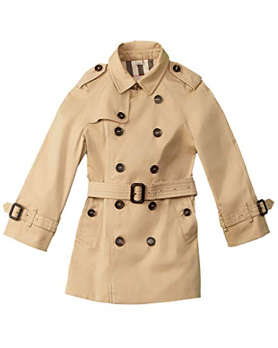 BURBERRY Girls Jacket, 5A, Brown