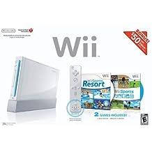 Wii Bundle with Wii Sports & Wii Sports Resort - White