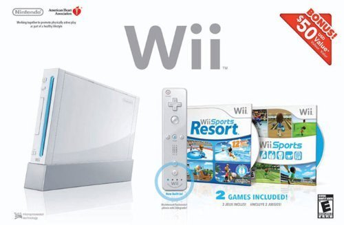 Wii Bundle Sports Resort White Nintendo