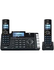 VTech DS6251-2 Dect_6.0 2-Handset 2-Line Landline Telephone, Black