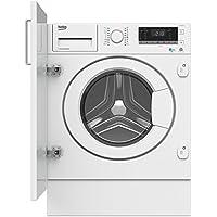 Beko HITV8733B0 Integrado Carga frontal A Blanco lavadora