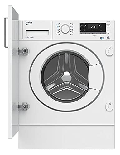Beko HITV8733B0 Integrado Carga frontal A Blanco lavadora ...