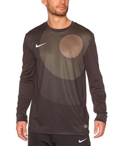 Nike Goalie Jersey (Nike - Park IV Mens Long Sleeve Jersey Black/Smoke/White Extra Large 448226)