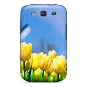 Galaxy S3 Case Slim [ultra Fit] Different Flowers 1080p Protective Case Cover