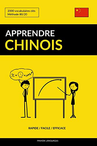 Apprendre le chinois - Rapide / Facile / Efficace: 2000 vocabulaires clés por Pinhok Languages
