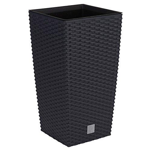 large black plastic pot - 6