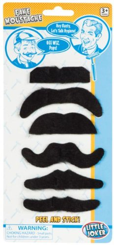 Fake Mustaches Party Accessory, Health Care Stuffs