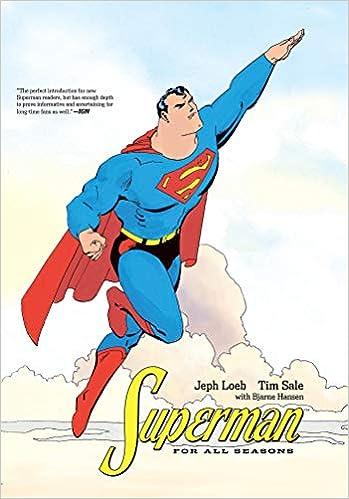 Jeph Loeb Excellent Book Superman Superman For All Seasons TP DC Comics