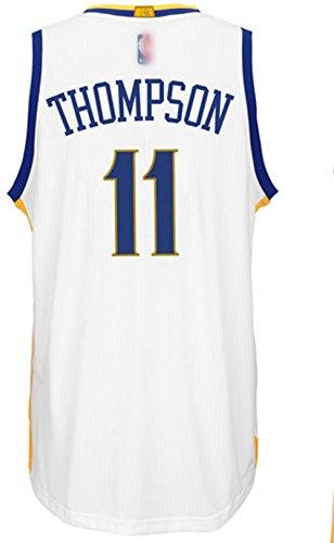 bffd66b58181 Golden State Warriors 11 Klay Thompson Customized White men`s Jersey ...