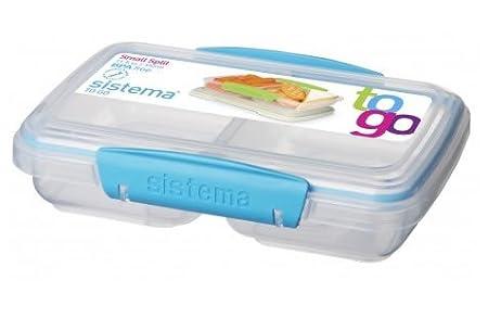 Sistema lunchbox butterbrotdose in sektionen unterteilt