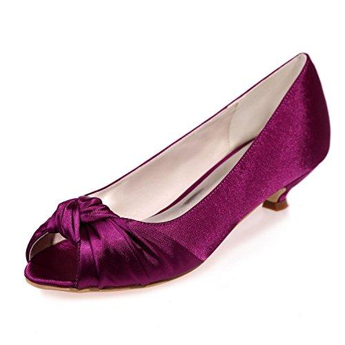 L@YC Frauen High Heels Peep Toe Sandalen Hochzeit / Party & abend Weitere verfügbare Farben Purple