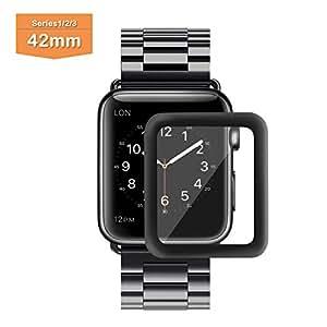 Película Apple Watch 42mm / 38mm 3d Vidro Com Borda Curva