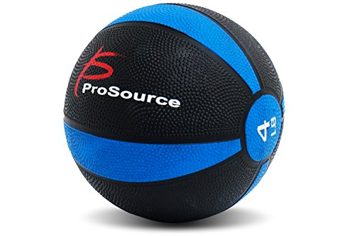 ProSource Weighted Medicine Ball for Full Body Workouts Fitn