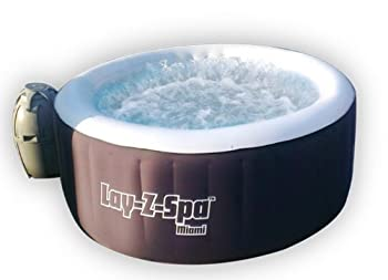 Bestway Lay Z Spa Miami Inflatable Hot Tub Review February 2019