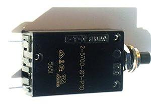 7AMP Circuit Overload Breaker for Dexter Washer - Part 5198-211-002