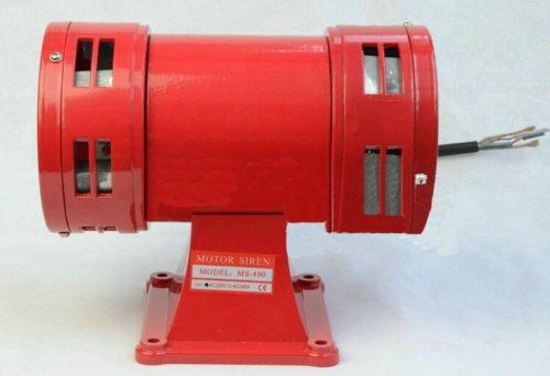 AC110V 150db Bidirectional Air Raid Siren Horn Mine Boat Alarm Motor Driven Alarm by YJINGRUI