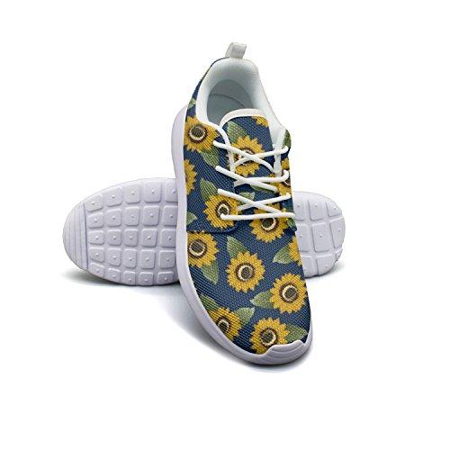Slip Shoes Eoyles Pretty Running Women Summer Resistant Flower Lightweight Floral gy Basketball UUfq76