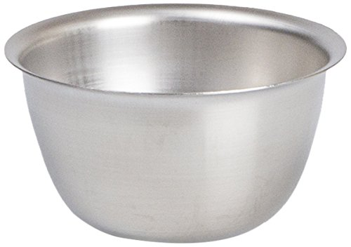 """Medegen Medical Products M69260 Iodine Cups/Bowls/Basins, 3 1/2"""" × 1 3/4"""" Size, 6 oz. Capacity, Stainless Steel"""