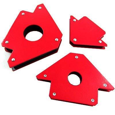 3 Pc Welding Magnets 3 4 5 Strong Holder Automotive DIY Welder 3 Angle Solder