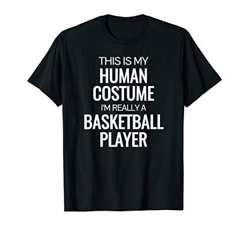 Basketball player T-shirt Funny Halloween Costume shirt -