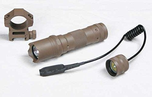 GMG-Global Military Gear FDE Flat Dark Earth Tan 90+ lumens Flashlight Tactical - Light Kit For Winchester 1200/1300/Super X SXP X3 12/20 Gauge Shotgun With A 7/8 Weaver-Picatinny Rail