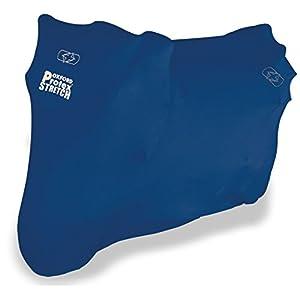 OXFORD Protex - Funda de Ajuste elástico para Motocicleta para Interior, Color Azul, Grande